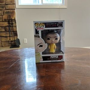Funko Pop #244 Pepper great condition in box